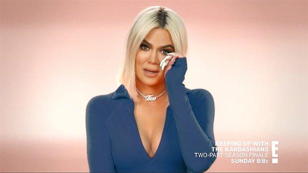 Khloe Kardashian Breaks Down in Tears After Learning About Tristan Thompson and Jordyn Woods