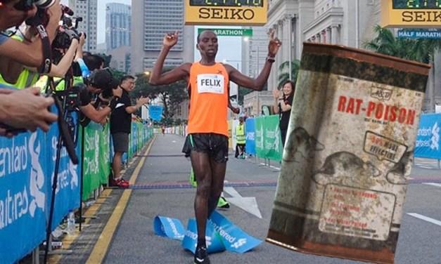 Kenyan Marathon Runner Banned After Testing Positive for Rat Poison