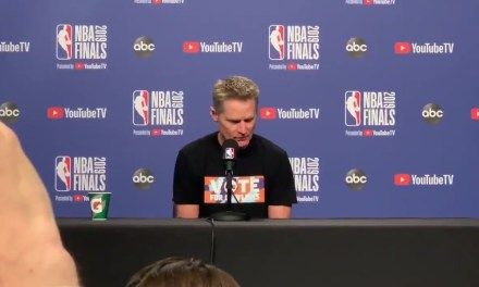 Steve Kerr Wears a T-Shirt Calling for Stricter Gun Laws Ahead of Game 2