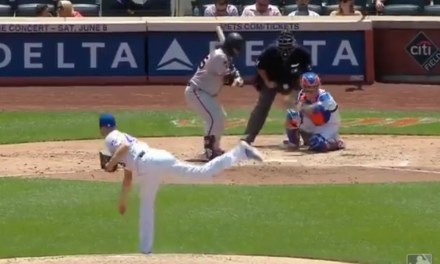 An Unfortunate Bounce on a Pitch in the Dirt Catches Umpire Right in the Junk