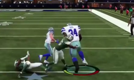 Shaq in Madden is an Absolute Unit