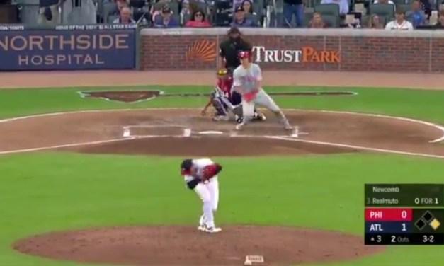 Braves Pitcher Sean Newcomb Took a Line Drive Off of the Back of His Head