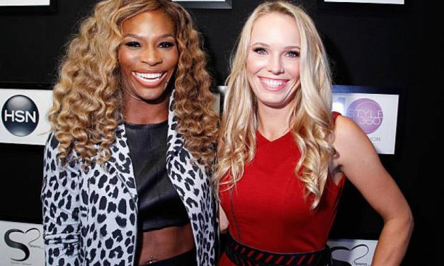 Serena Williams was a Bridesmaid at Caroline Wozniacki's Wedding