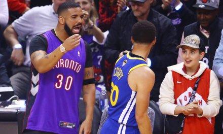 Strange Result of Drake's Joke on Steph Curry