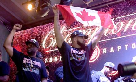 Watch Drake Celebrate the Raptors Winning an NBA Championship