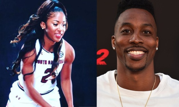 Dwight Howard and His Fiancee Te'a Cooper Took in a WNBA Game