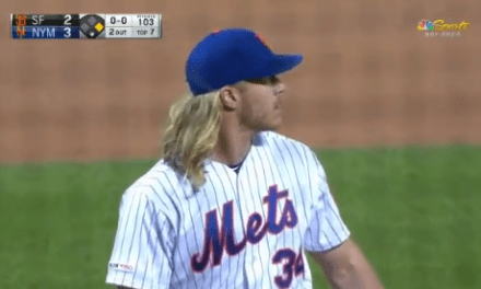 Mickey Callaway Foolishly Pulls Noah Syndergaard with Two Outs in the 7th Inning and the Lead, Mets Lose the Game in Extra Innings