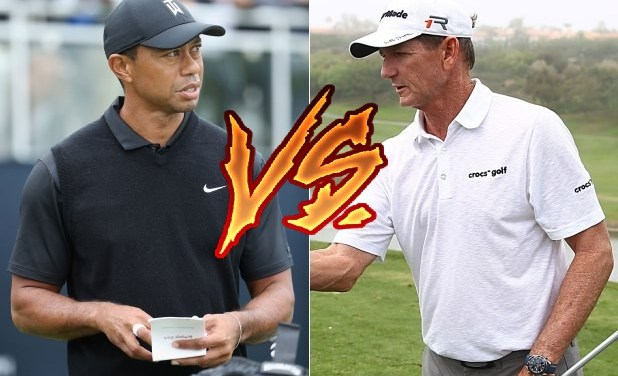 Golf Coach Goes Hard and Ratchets Up Feud with Tiger Woods