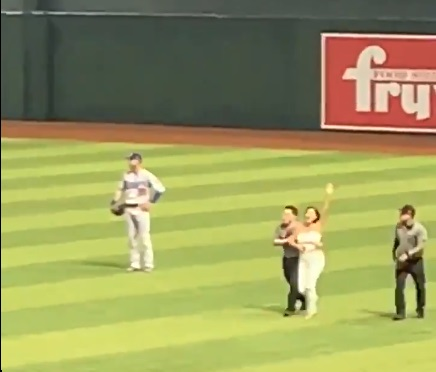 Another Fangirl Ran Onto Field To Hug Cody Bellinger and He's Not Happy About It