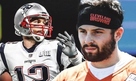 Tom Brady Encourages Baker Mayfield in Strange Twitter Exchange