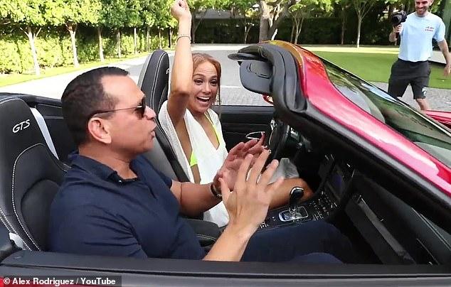 A-Rod Gifted Jennifer Lopez A Car But Only One Problem..