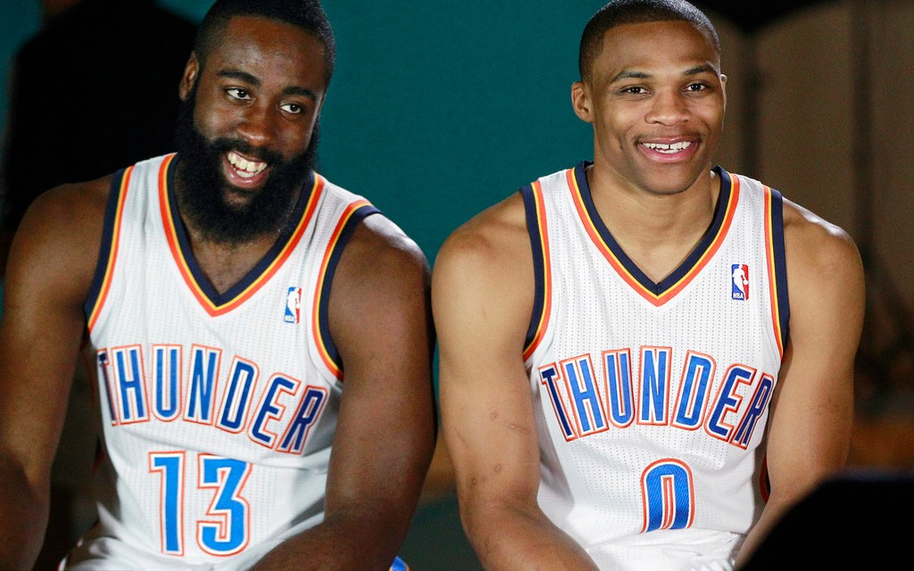 James Harden Was the Driving Force Behind the Chris Paul and Russell Westbrook Trade