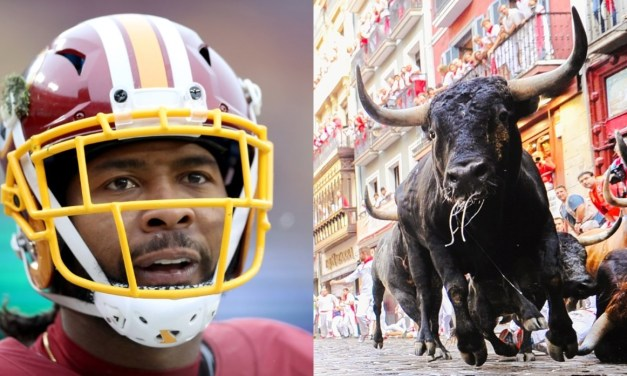 Josh Norman Responds To Criticism For Jumping Over Bull in Pamplona