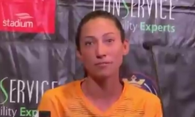 US Women's Soccer Player Christen Press Addresses Controversial Partnership with Barstool Sports