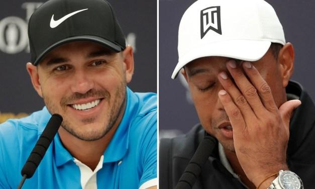 Brooks Koepka Explains Ghosting Tiger Woods