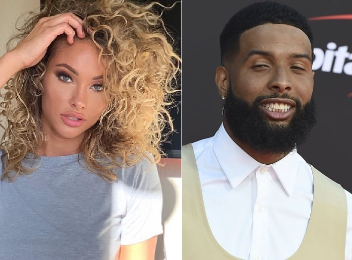 Odell Beckham Jr. Spotted with His Girlfriend Lolo Wood At ...