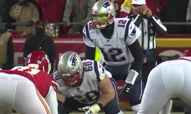 Chiefs Fan Fined $500 for Shining Laser at Tom Brady's Face