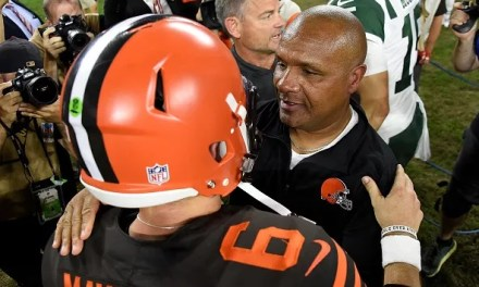 Hue Jackson Finally Responds to Baker Mayfield's Comments