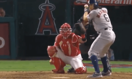 Angels Pitcher Drills Astros Outfielder Jake Marisnick With a Pitch at His Head