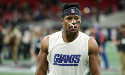 Giants RB Saquon Barkley Fires Back at Daniel Jones Haters