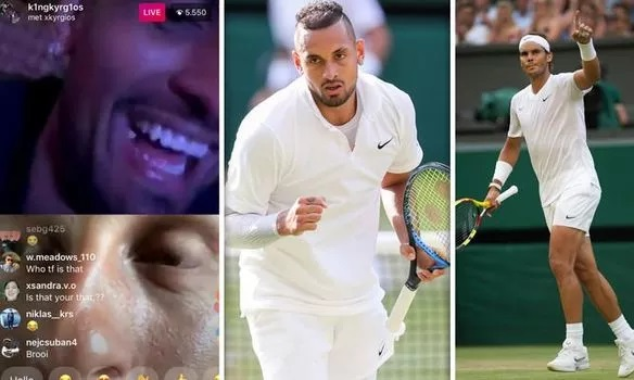 Nick Kyrgios Brother Calls Rafael Nadal 'F****** P****' After Wimbledon Showdown