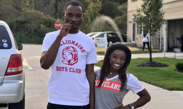Simone Biles Responds to Her Brother Being Charged with a Triple Homicide