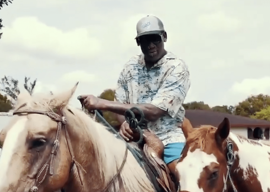 Dennis Rodman Appears to Be Hitting On Lil Nas X Hard
