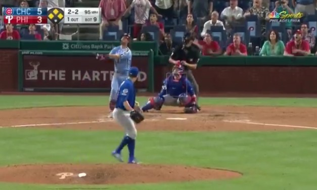 Bryce Harper Hit a Walk-Off Grand Slam into the Second Deck