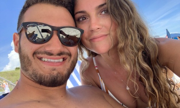Mitchell Trubisky's Girlfriend Wished Him a Happy Birthday