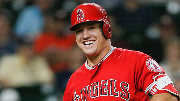 Mike Trout Set a Career High in Home Runs