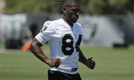 Now There's a New Reason Antonio Brown Has Been Sitting Out of Practice