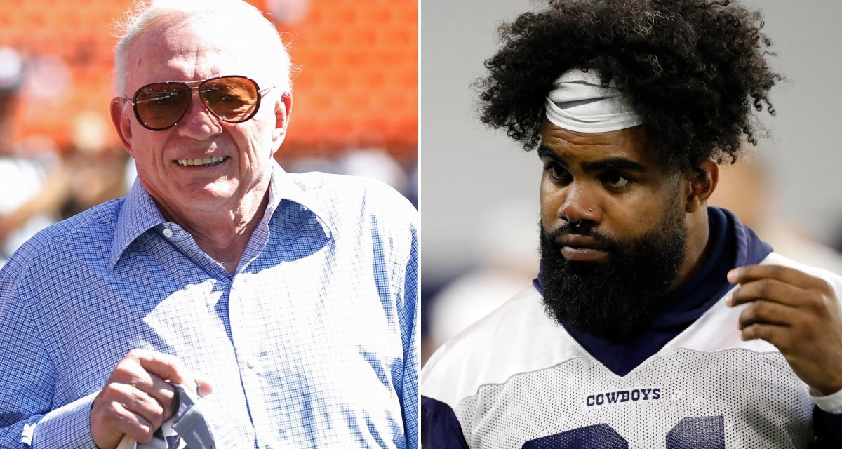 Jerry Jones Appears to Admit Defeat in Ezekiel Elliott Holdout