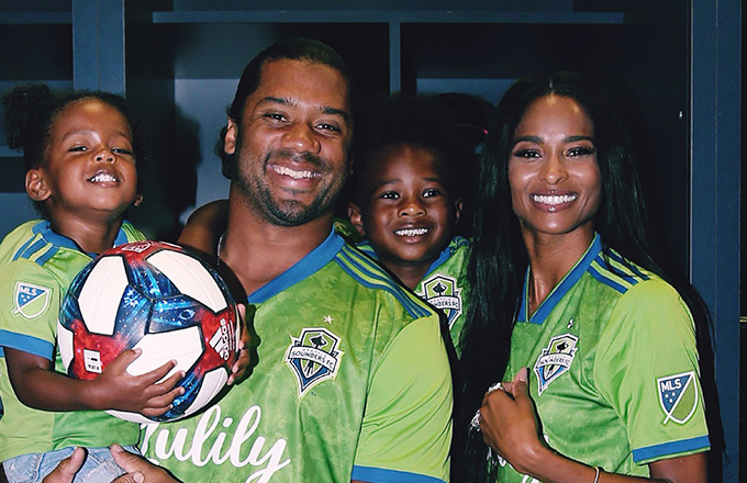 Russell Wilson and Ciara Join Seattle Sounders Ownership Group