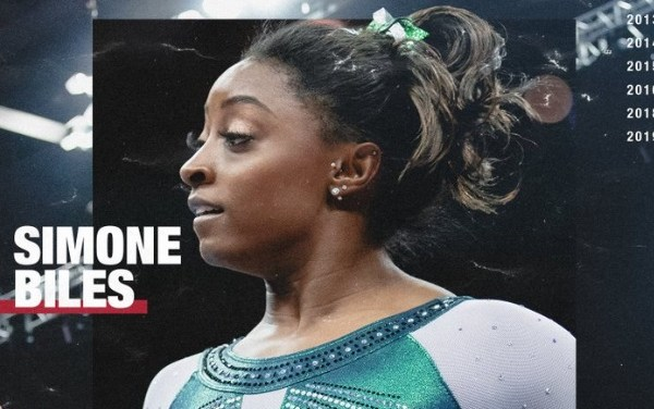 Jaws Drop as Gymnast Simone Biles Makes History