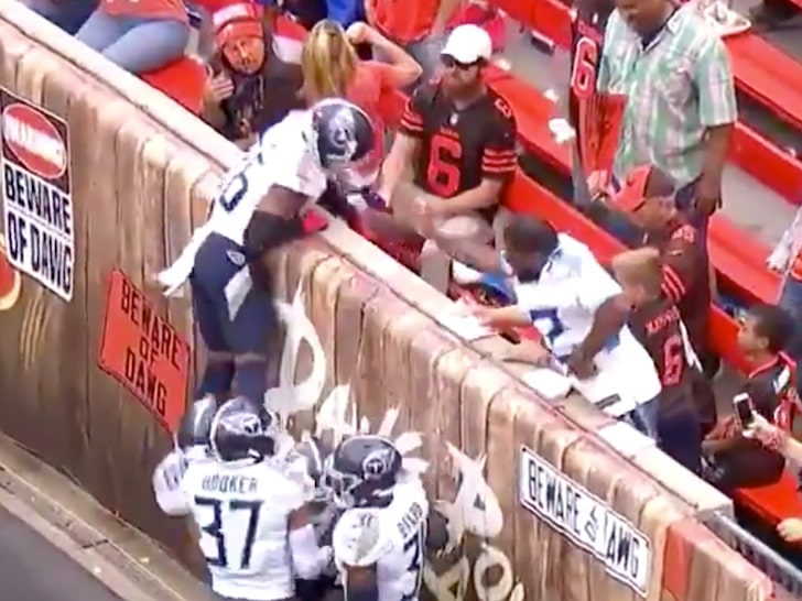 NFLPA Contacts NFL After Beer Thrown at Titans