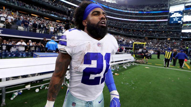 Ezekiel Elliott Reportedly 'Spanks Himself' Before Games