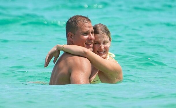 Genie Bouchard Spotted Cuddling With Hannah Jeter's Older Brother in Miami