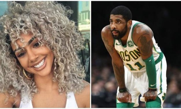 Newly Engaged Couple Kyrie Irving and Golden Out and About in NYC