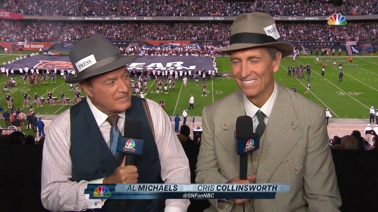 Cris Collinsworth Retired the Slide In