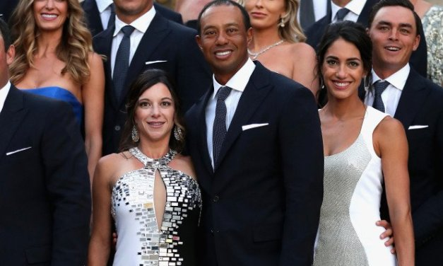 Tiger Woods and His Girlfriend Erica Herman Squared Off this Past Weekend