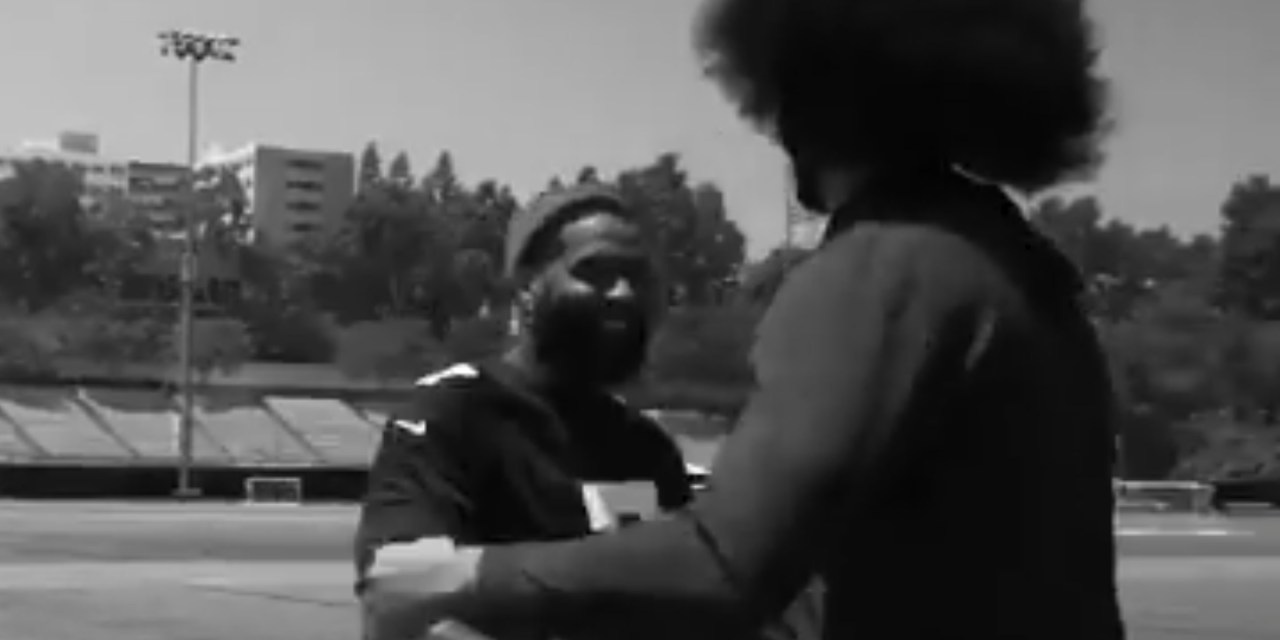Colin Kaepernick and Odell Beckham Held a Private Workout at UCLA