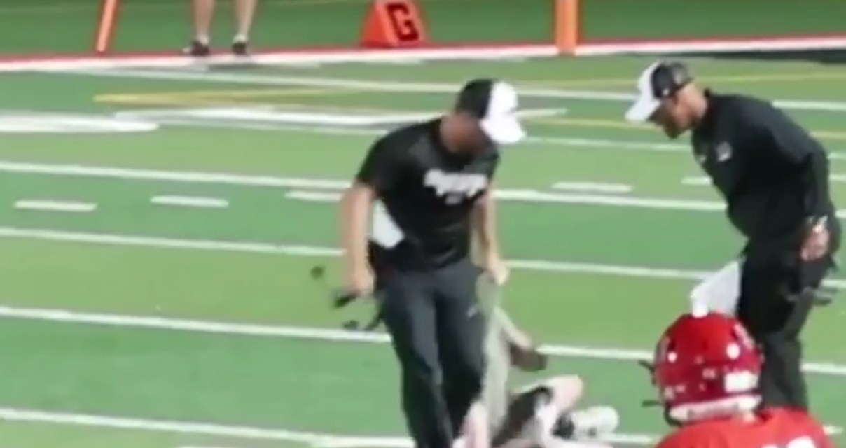 High School Strength Coach Clotheslined the Soul Out of a Streaker