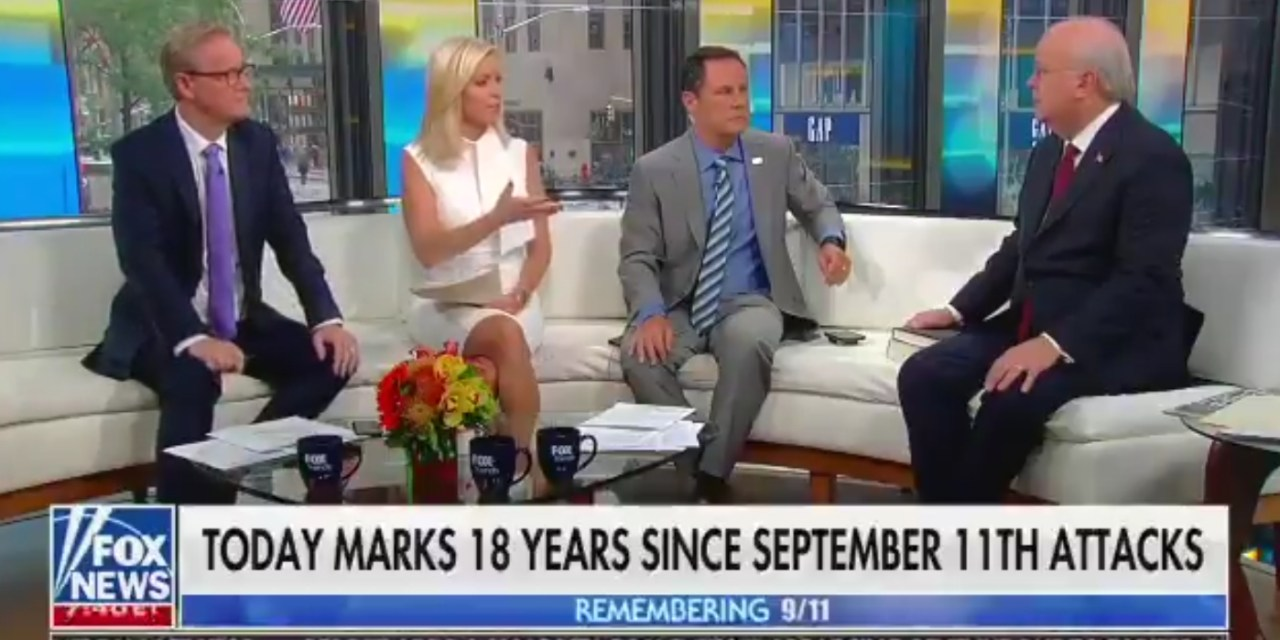 """Fox & Friends"" Host Connects Kneeling for the National Anthem to 9/11"