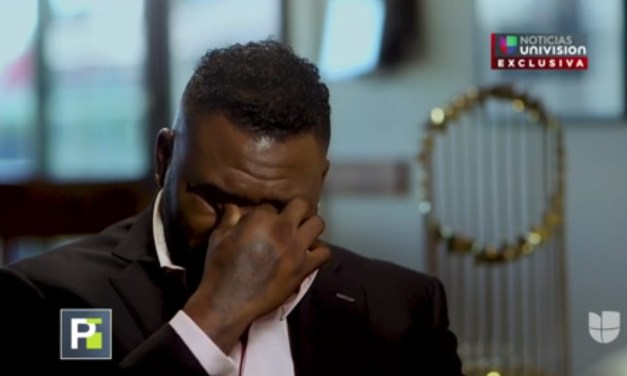 David Ortiz Gets Emotional in First Interview Since Being Shot