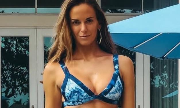 "Jena Sims Shares Some Bikini Looks to ""Dye For"""