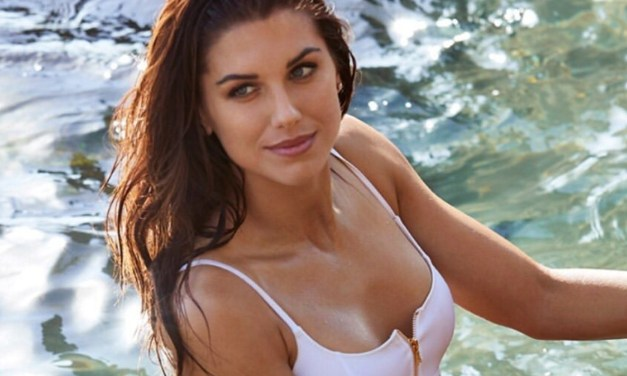 Sports Illustrated Shared Pictures of Alex Morgan From Her St. Lucia Photo Shoot