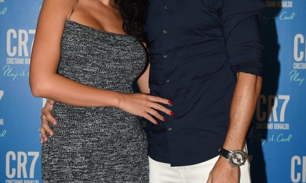 Cristiano Ronaldo Launches CR7 Play It Cool Fragrance With Girlfriend in Italy