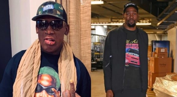 Dennis Rodman Puts Kevin Durant On Blast For Being 'Selfish'