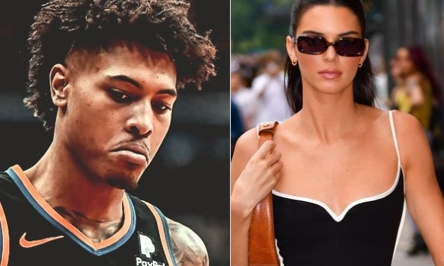 Phoenix Suns Star Kelly Oubre Jr. Does the Walk of Shame Leaving Kendall Jenner's NYC Hotel