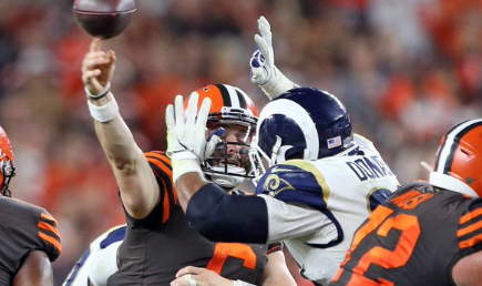 Aaron Donald Fined Over $21k for Hit on Baker Mayfield